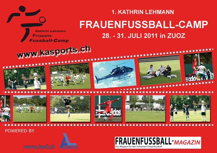 Flyer Frauenfussballcamp